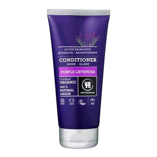 URtekram bio lila levendulás hajkondicionáló probiotikummal és hialuronsavval viszkető/korpás fejbőrre- 180 ml