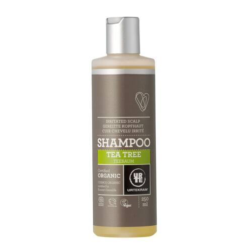 Urtekram bio teafaolaj natúr sampon viszkető fejbőrre - 250 ml - SLS-mentes