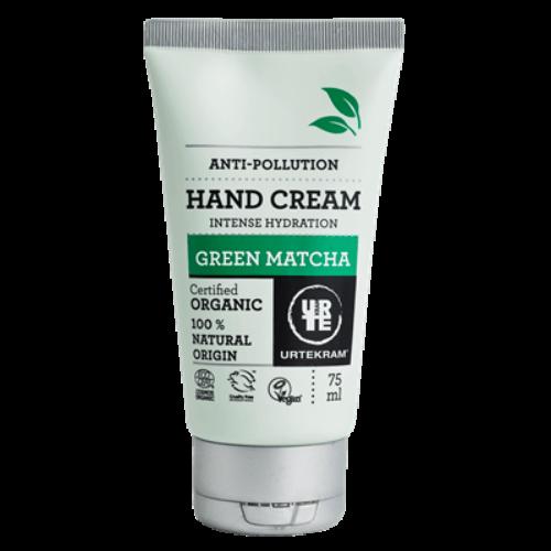 Urtekram zöld matcha teás hialuronsavas bio kézkrém - 75 ml