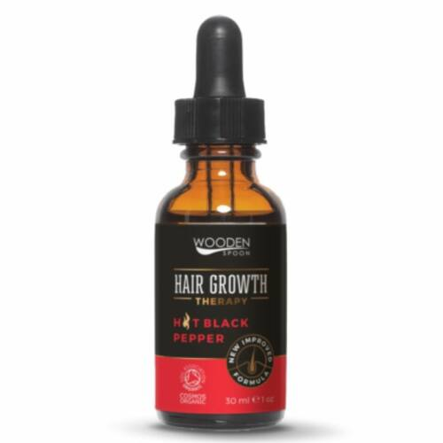 Wooden Spoon bio hajnövekedést serkentő szérum , hajhullás ellen- 30 ml