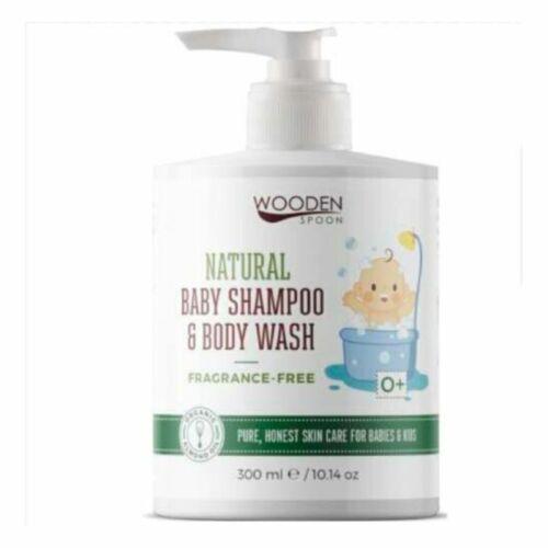 Wooden Spoon illatmentes bio baba sampon és fürdető