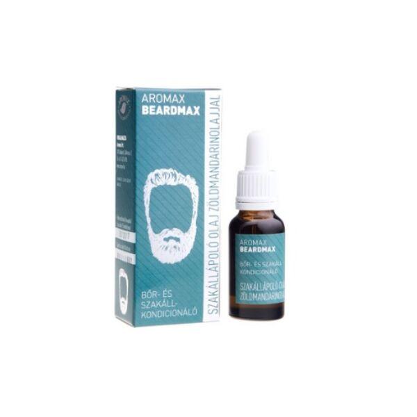 Aromax beardmax szakállápoló olaj zöldmandarinnal - 20 ml