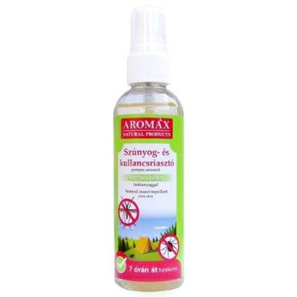 Aromax natúr szúnyog- és kullancsriasztó spray - 100 ml
