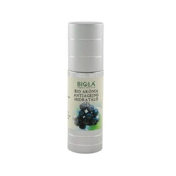 Biola bio arónia hidratáló gél C-, és E-vitaminokkal és algával