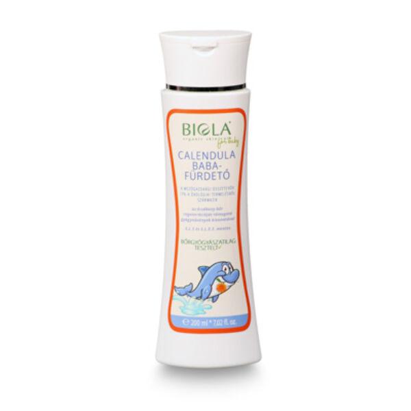 Biola bio körömvirág natúr babafürdető - 200 ml