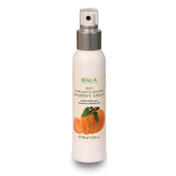 Biola bio narancs és jojoba hajfény spray a könnyen fésülhető hajért - 100 ml