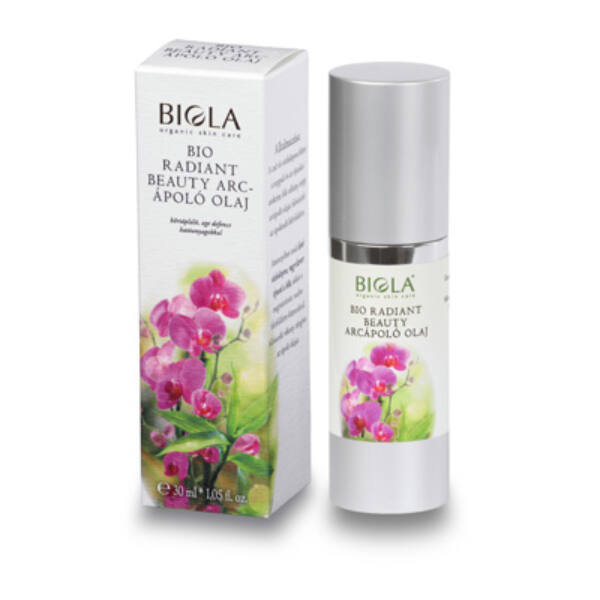 Biola bio radiant beauty arcápoló olaj - 30 ml
