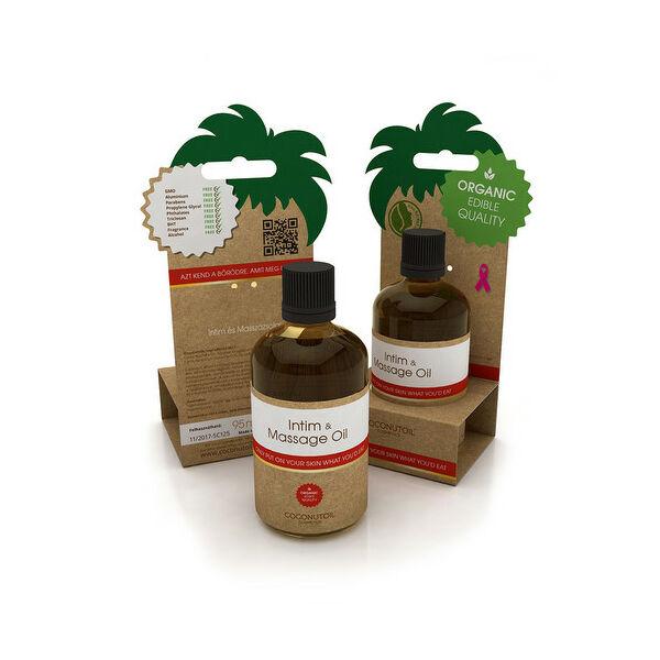 Coconutoil intim masszázsolaj - 100 ml