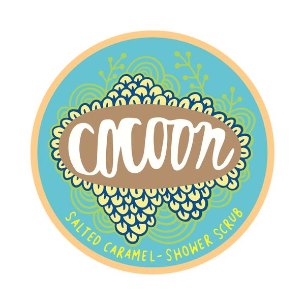 Cocoon sóskaramell fürdő- és testradír
