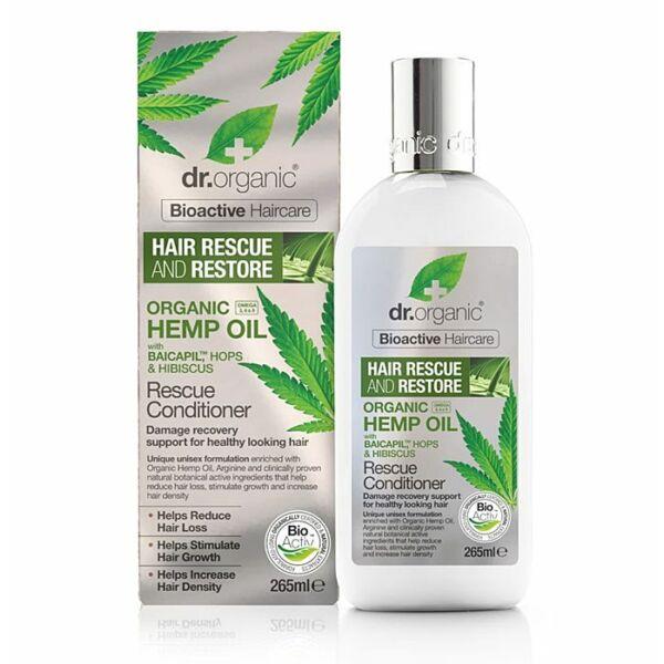Dr. Organic bio kendermagolaj hajnövekedést serkentő hajkondícionáló - 265 ml