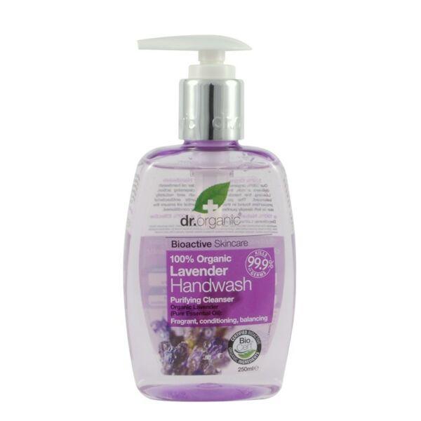 Dr. Organic bio levendula folyékony szappan - 250 ml