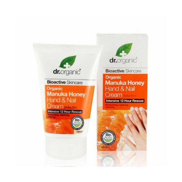 Dr. Organic bio manuka mézes kéz- és körömápoló krém - 125 ml