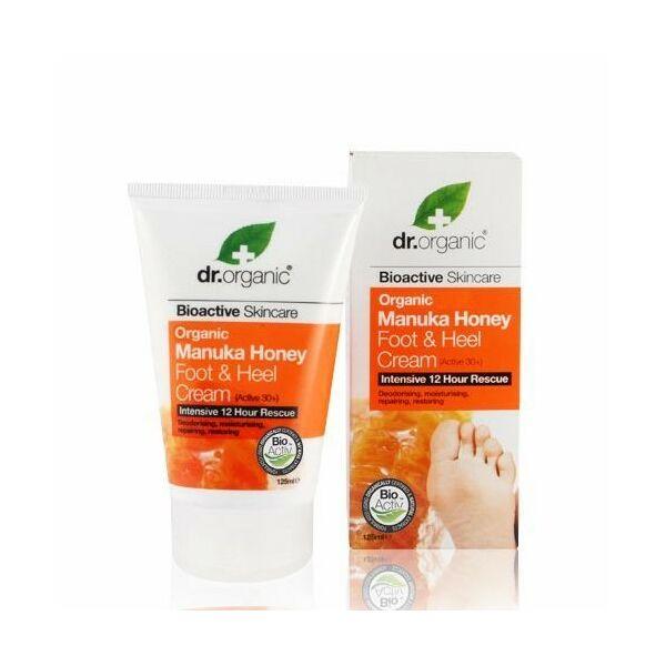 Dr. Organic bio manuka mézes láb- és sarokápoló - kellemetlen szagok ellen - 125 ml