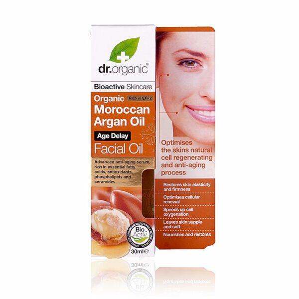 Dr. Organic bio marokkói argán olaj öregedésgátló arcápoló olaj - 30 ml