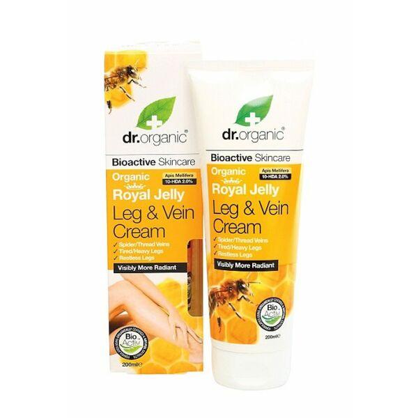 Dr. Organic bio méhpempő láb- és sarokápoló visszeres lábakra - 200 ml