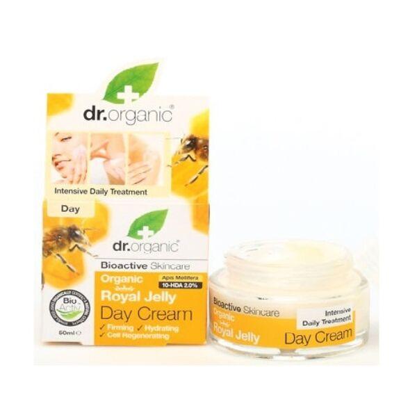 Dr. Organic bio méhpempő nappali natúr arckrém avokádóolajjal