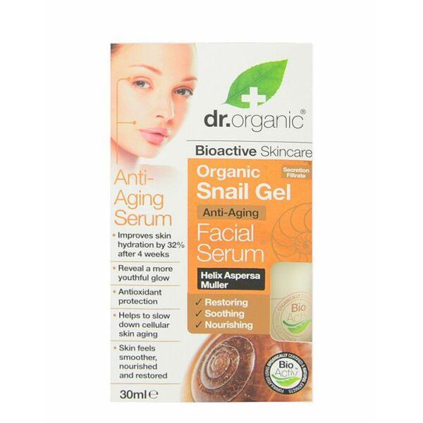 Dr. Organic bioaktív csigagél ránctalanító natúr arcápoló szérum