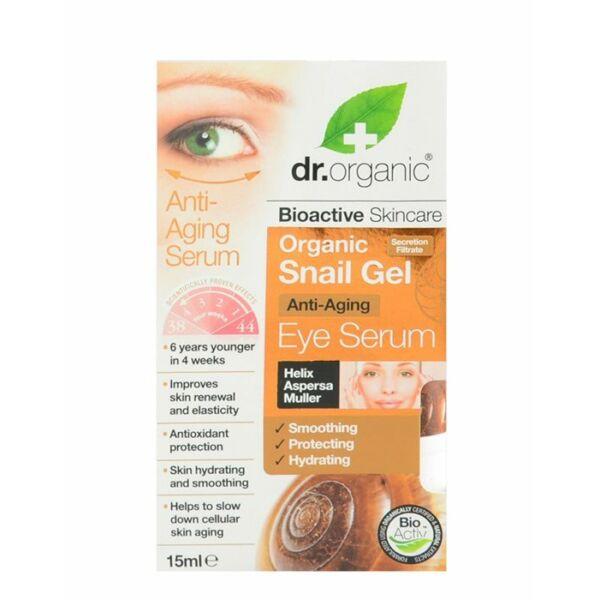 Dr. Organic bioaktív csigagél szemkörnyékápoló szérum - 15 ml