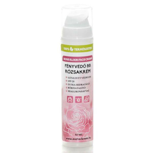 Eszterkrém Rózsa elixír BB krém SPF 20 - 50 ml
