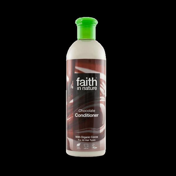 Faith in Nature kakaó natúr hajbalzsam sötét árnyalatokra - 250 ml