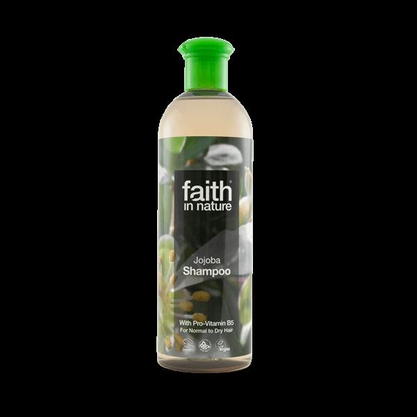 Faith in Nature jojoba sampon B5 vitaminnal és tengeri hínárral - 250 ml