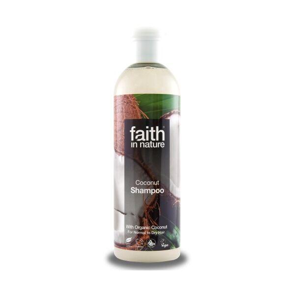Faith in Nature kókusz natúr sampon normál-száraz hajra - SLS-mentes