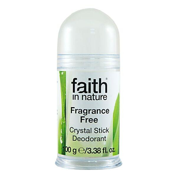 Faith in Nature sókristály golyós natúr dezodor - alumínium hydroxide mentes