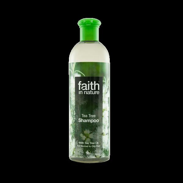 Faith in Nature bio teafa natúr sampon - SLS-mentes