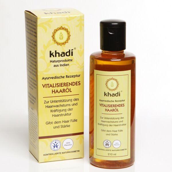 Khadi vitalizáló hajolaj töredezett hajra - 100 ml