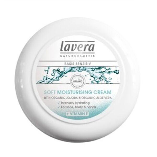 Lavera basis lágy hidratáló krém (tégelyes) jojoba olajjal száraz bőrre