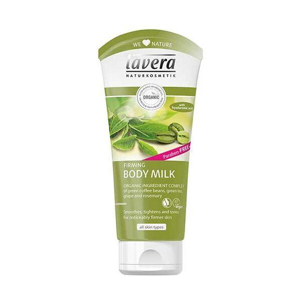 Lavera zöld kávé és zöld tea natúr bőrfeszesítő bio testápoló