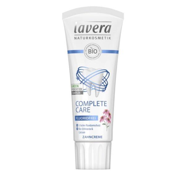 Lavera Complete Care echinacea és kálcium fogkrém- fluoridmentes - 75 ml