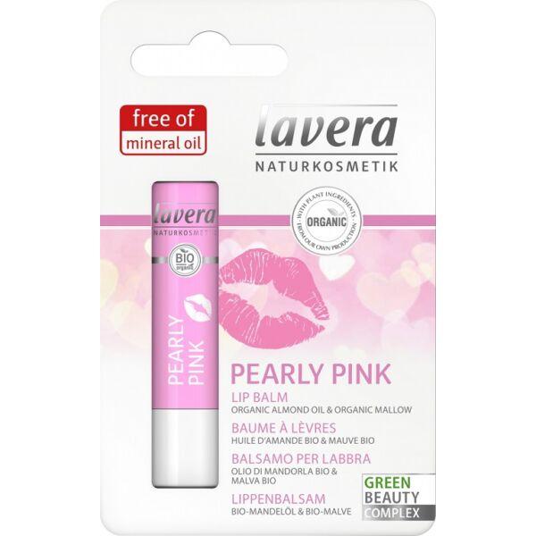 Lavera lips rosé ajakápoló, bio mandulatejjel és kakaóvajjal - 4 ml