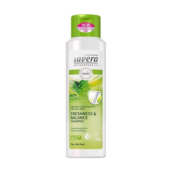 Lavera hair balance sampon normál, zsíros hajra, bio citrommal és mentával - 200 ml