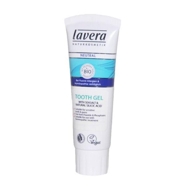 Lavera neutral tengeri só és kovasav foggél, vegán, natúrkozmetikum - 75 ml