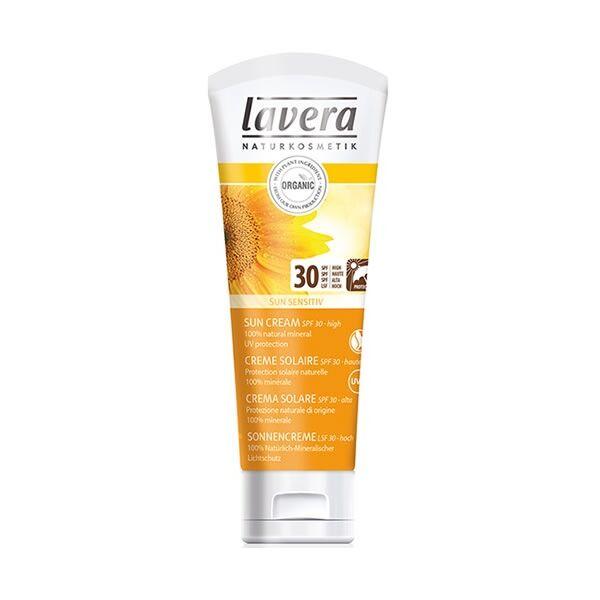 Lavera sun sensitive natúr naptej érzékeny bőrre - 30-as faktor