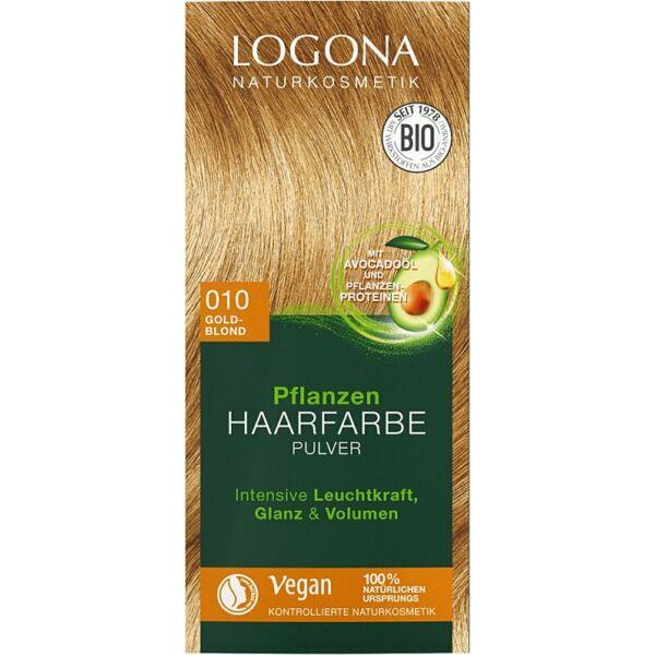 Logona bio növényi hajfesték por - aranyszőke