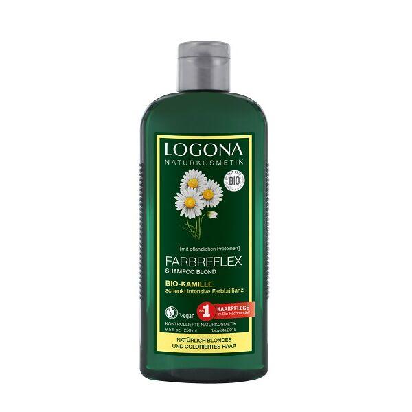 Logona kamilla színvédő natúr sampon szőke vagy festett szőke hajra - SLS-mentes