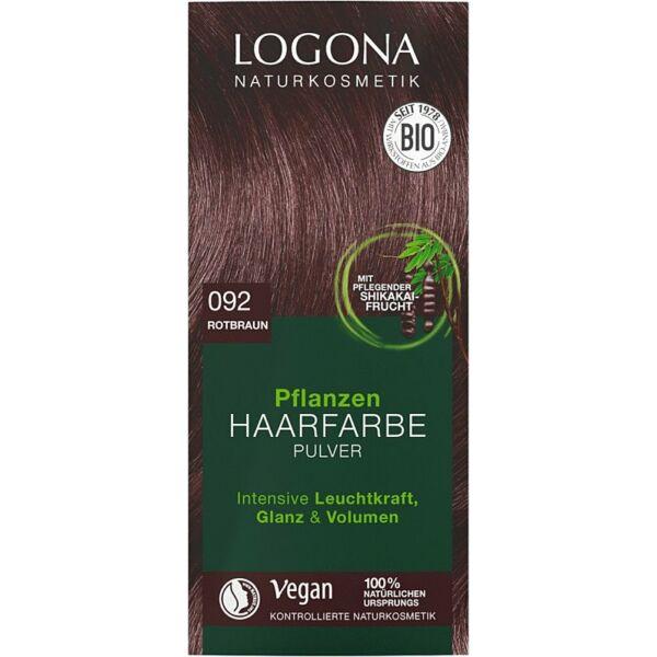 Logona bio növényi hajfesték por - eszpresszó
