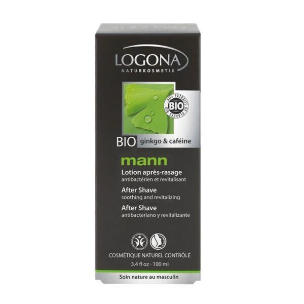 Logona Mann natúr borotválkozás utáni arcszesz - 100 ml