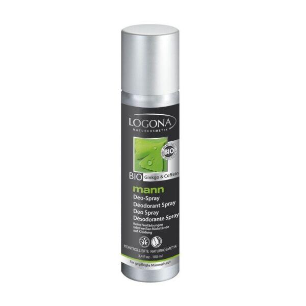 Logona Mann pumpás bio dezodor férfiaknak - alumínium-mentes