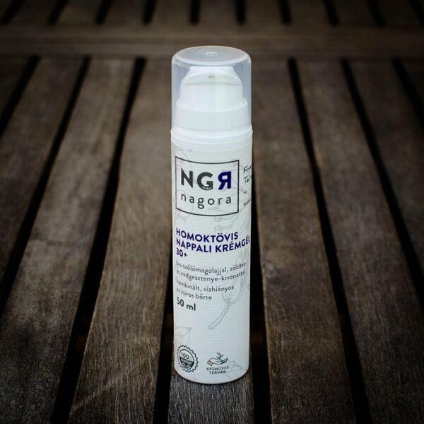 Nagora bio homoktövis nappali krémgél 30+ zsíros és vízhiányos bőrre
