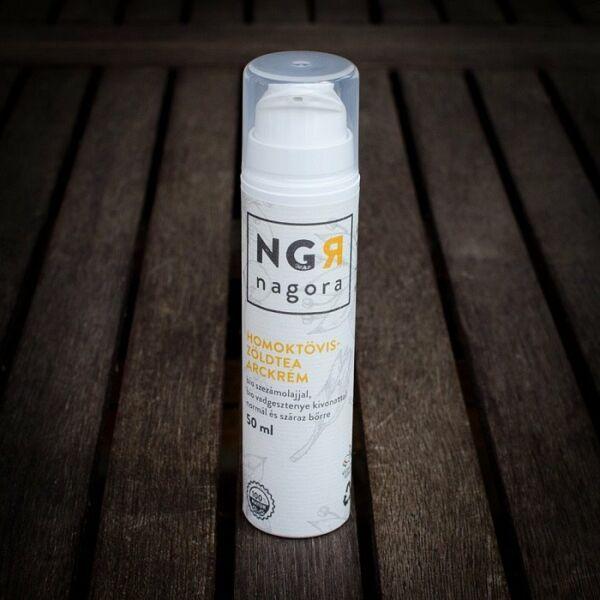 Nagora bio homoktövis-zöldtea nappali arckrém normál és száraz bőrre