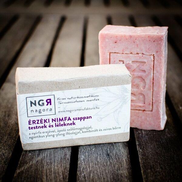 Nagora Érzéki Nimfa natúr szappan a testnek, ylang-ylang illattal a léleknek