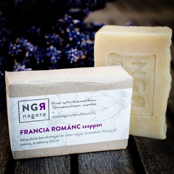 Nagora Francia Románc levendulás natúr szappan