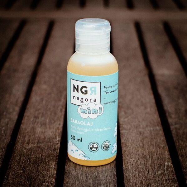 Nagora natúr babaolaj mandulaolajjal, E-vitaminnal - illatmentes