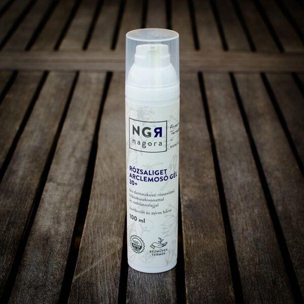 Nagora bio Rózsaliget arclemosó gél 30+ kombinált és zsíros bőrre
