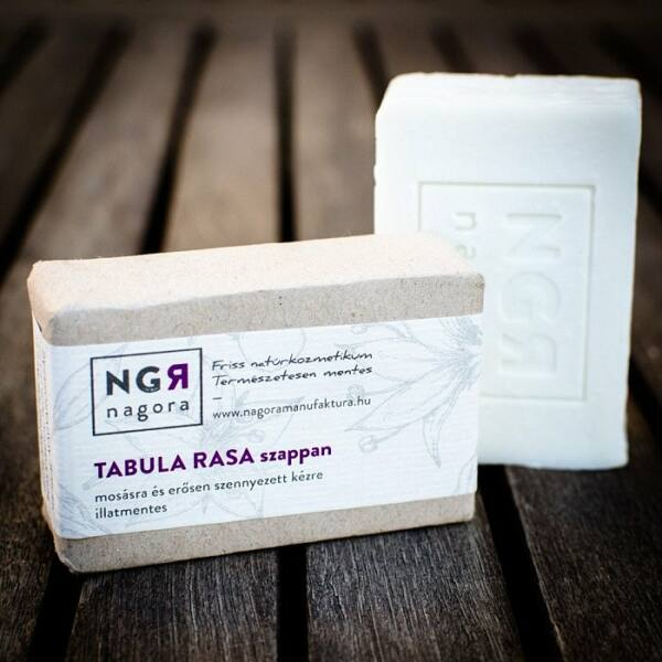 Nagora Tabula Rasa natúr szappan mosásra és erősen szennyezett kézre