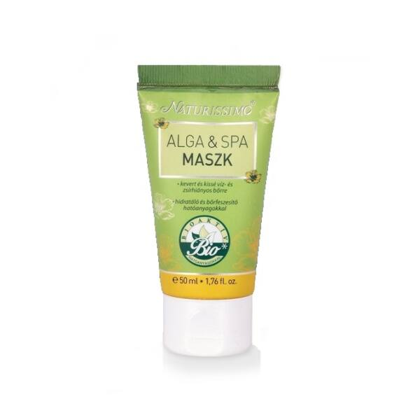 Naturissimo alga-spa natúr maszk vegyes és száraz bőrre