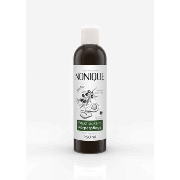 Nonique natúr hidratáló bio testápoló avokádóval és mandulaolajjal